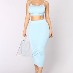 2 piece dress set